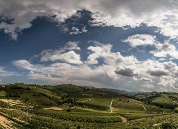 Panoramica dal Vecchio Torchio - Canelli