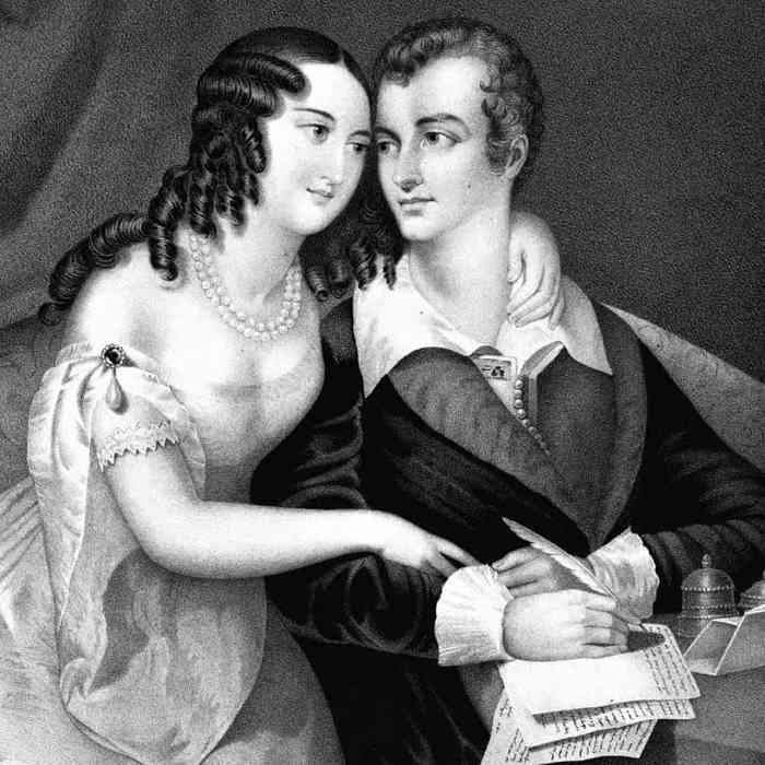 Lord Byron amanti