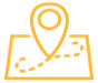 Icona mappa turistica