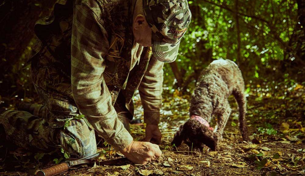 cacciatore di tartufo canelli