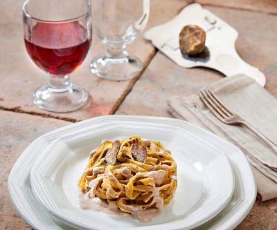 ricetta tagliolini tartufo bianco
